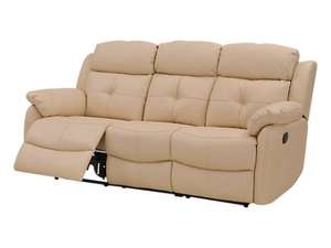 Vister 3 seater leather recliner sofa (£499 + £59 del) @ Harveys for £558 delivered (possibly £508)