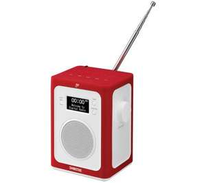 GOJI Smoothie GBTDABR14 Portable DAB+ Bluetooth Radio - Red & White £49.99 @ Currys