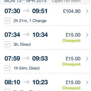 South West Trains Spring Fan Fare from £15