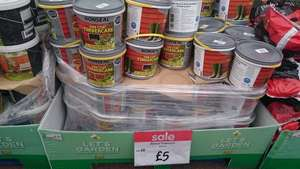 Ronseal fence paint £5 Asda (instore)