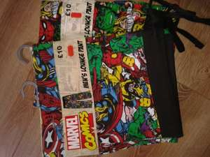 Marvel comics Mens Lounge pants. Half price at Morrisons were £10 now £5