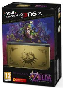 New Nintendo 3DS XL with Zelda Majoras Mask £209.99 @ amazon