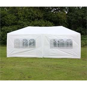 Palm Springs 10' x 20' Party Tent Marquee with Sides Price £69.99     Was £249.99 The sports HQ