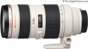 Canon EF 70-200mm f/2.8 USM Lens LOWEST PRICE EVER £787.89 @ Amazon