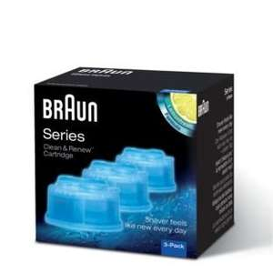 Braun clean and renew cartridge 2 for £20 Argos