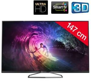 "PHILIPS 58PUS6809 - 58"" 3D Ultra HD (4K) LED Smart TV £650.95 Delivered @ Pixmania"