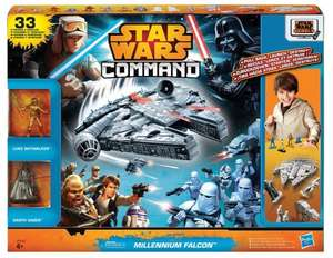 Star Wars Command Millennium Falcon Set £11.99 @ Argos