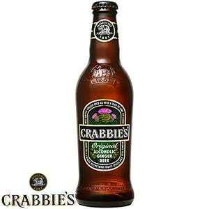 Crabbie's Alcoholic Ginger Beer 330ml 24 Bottles £11.94 (50p Per Bottle) Order & Collect Instore @ Home Bargains