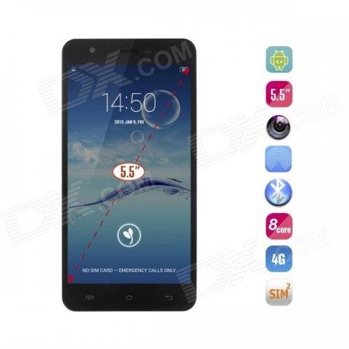 "JIAYU S3 MT6752 64 bits Octa-Core 4.4 Android Smartphone 4G LTE 2GB Ram + 16GB Rom 5.5"" IPS FHD £127.34 @ DX.com"
