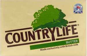 Country Life British Butter (250g) was £1.50 now £1.00 @ Iceland