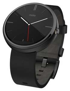 Motorola Moto 360 Smartwatch Black or Grey £143 (with code) @ Tesco Direct