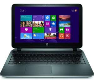 "HP Pavilion 15-p091sa Refurbished 15.6"" Touchscreen Laptop - Silver £249.99 @ Currys"