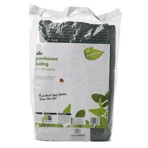 Wilko Greenhouse Shading 2.7m x 1.8m £5.00 online and instore, click and collect or £3.50 delivery