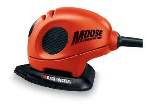BLACK+DECKER KA161BC Mouse Detail Sander with Accessories @ Amazon, £15