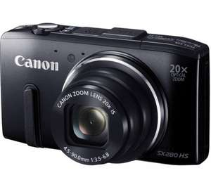 Canon PowerShot PowerShot sx280 HS Superzoom Compact Digital Camera - Black £109.97 at currys