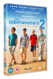 The Inbetweeners 2 (DVD) £5 Delivered @ Channel 4 Store