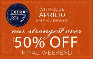 Denby Stoneware Final Weekend - up to 50% off Denby plus extra 10% off
