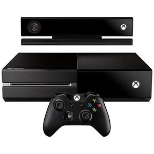 Microsoft Xbox One Console with Kinect with Halo: The Master Chief Collection @ John Lewis