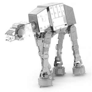 Star Wars Metal construction kits £9.99 each or 3 for £16.02 with code stack @ IWOOT