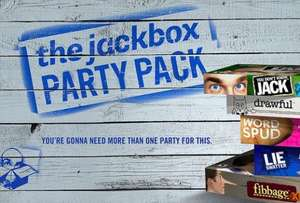 The Jackbox Party Pack £12.69 on Bundle Stars (Steam key)