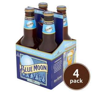 Blue Moon Craft Beer - 8 x 355ml bottles for £8.00 at Tesco