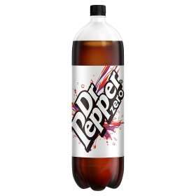 Dr Pepper Zero 2L 75p or 50p instore @ Asda