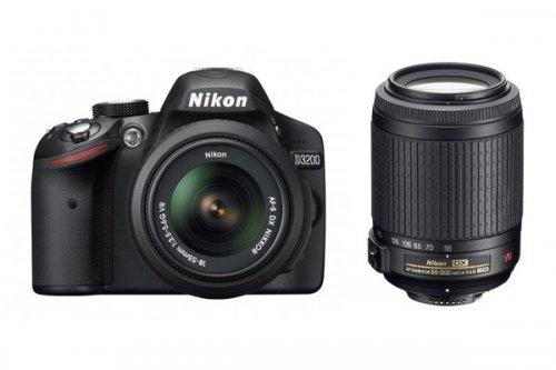 Nikon D3200 Twin Kit (18-55mm VR Slim + 55-200mm VR) factory refurbished only £349.99 @ LCE Gloucester (possibly national)