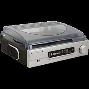 Steepletone ST-9008B Silver - Stand-alone Stereo 3-speed Record Player; Battery and Mains Operated. £29.99 @ Co-op Electrical