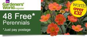 Free plants just pay postage @ Thompson & Morgan