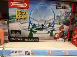 World of Nintendo Mario Kart 8 Infinity Loop Deluxe track set £10 @ Tesco
