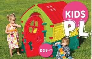 Wendy house/playhouse £39.99 @ Home Bargains