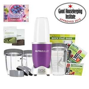 Nutribullet 12 piece with 2 Superfoods and Recipe Book - Free P&P (£81.59 Quidco) £84.99 idealworld
