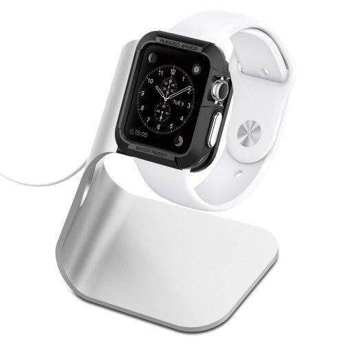 Spigen silver apple watch stand pre order price £14.99 del @ spigen