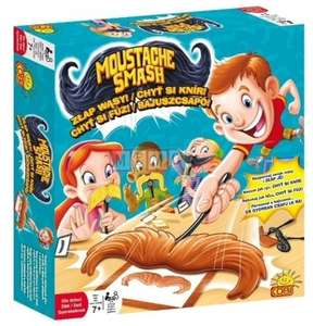 Moustache Smash board game £4.49 Argos