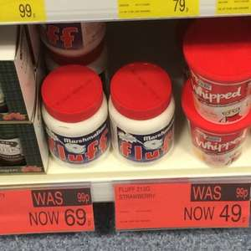 Marshmallow fluff £0.49 @ B&M