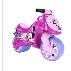 Minnie Mouse foot to floor wide wheel balance bike was £39.99 now £23.99 at Argos