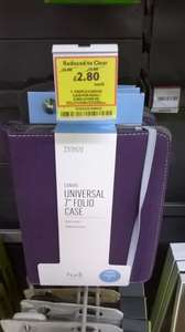 Canvas Case for Hudl / Kindle Fire HD / HP Stream / 7 inch tablets - £2.80 instore @ Tesco