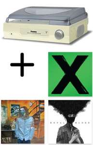 Steepletone ST918 Turntable & Vinyl Bundle (Ed Sheeran, Royal Blood and Hozier) £48.99 Delivered @ Xtra Vision (Using Code)