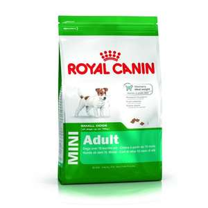Save £4 (31%) on selected  Royal Canin Dog Food @ Jollyes from £8.99