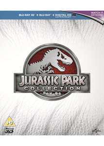 Jurassic Park Collection (Blu-Ray/3D + UV Copy) £11.99 Delivered @ Base