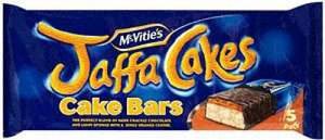 * Mcvities Jaffa Cake Bars 5 Pack/ Mcvities Original / Chocolate Hobnob Flapjacks 5 Pack HALF PRICE 65p @ Tesco (& more below) *