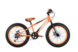 Sonic Bulk Orange Fat Bike - 20 inch Wheels £140 @ Asda