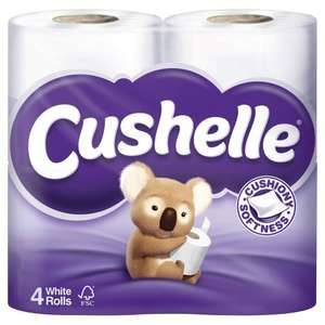 Cushelle 40 pack Costco £9.58 (incl VAT)