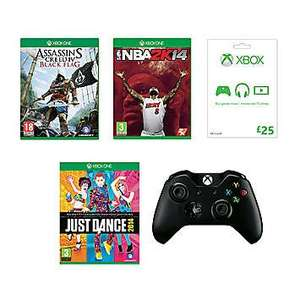 Spend a fortune on a Microsoft Xbox One Gaming Bundle (1 wireless controller, 3 games, £25 gift card and free p&p) £225 @ Freemans.....with no console included :)