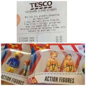 Fireman Sam Action Figures: £2.50 (Instore, Tesco)