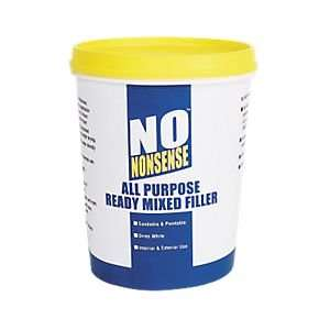 No Nonsense All-Purpose Ready-Mixed Filler White [1kg Tub] £1.59 @ screwfix