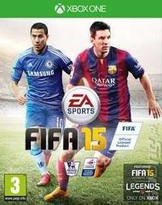 Fifa 15  (Xbox One £24.26) (Xbox 360 & PS3 £18.20)  delivered from Xtra Vision Ireland (Using code)