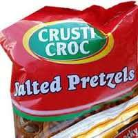 Crusti Croc Salted Pretzels (250g) was £1.09 now 89p @ Lidl