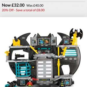 Imaginext Batcave £28.80 at Debenhams using code CN47
