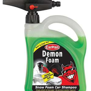 DEMON SHINE FOAM WITH SNOW FOAM GUN 2 LITRE @ Halfords £10